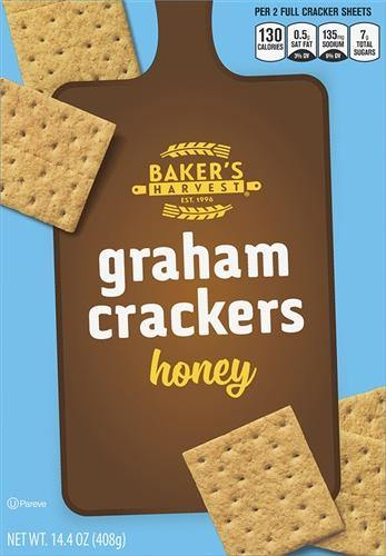 Baker's Harvest Honey Graham Crackers - 14 oz - Darn Cheap Discounts