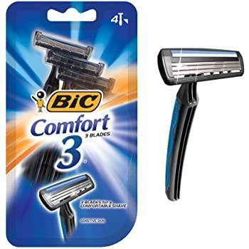 BIC Comfort 3 Razors - 4 ct - Darn Cheap Discounts