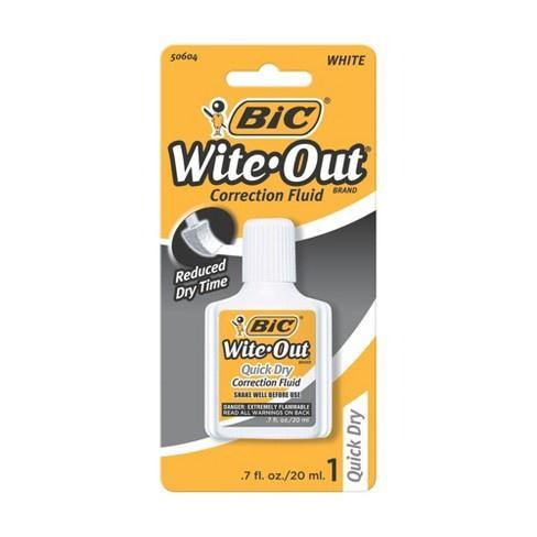 Bic Wite Out Fluid - 0.7 fl oz - Darn Cheap Discounts