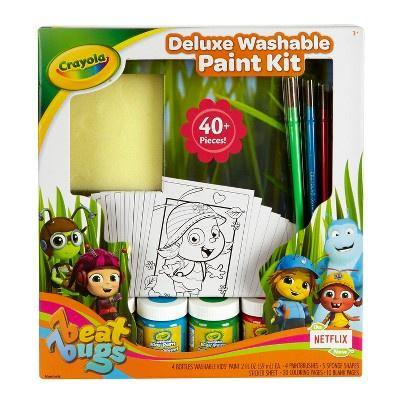 Crayola Beat Bugs Deluxe Washable Paint Kit 44pc - Darn Cheap Discounts