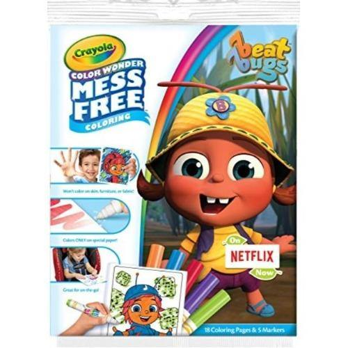 Crayola Color Wonder Coloring Kit - Beat Bugs - Darn Cheap Discounts