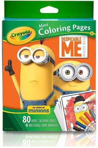 Crayola Despicable Me - Mini Coloring Pages - Darn Cheap Discounts
