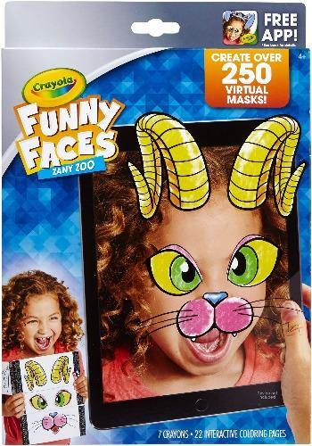 Crayola Funny Faces Zany Zoo - Darn Cheap Discounts