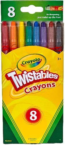 Crayola Twistables Crayons - 8 ct - Darn Cheap Discounts