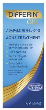 Differin Adapalene Gel 0.1% Acne Treatment - 1.6oz - Darn Cheap Discounts