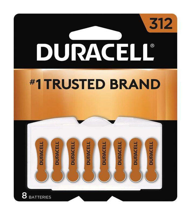 DURACELL Hearing Aid Batteries - 312 - 8pk - Darn Cheap Discounts