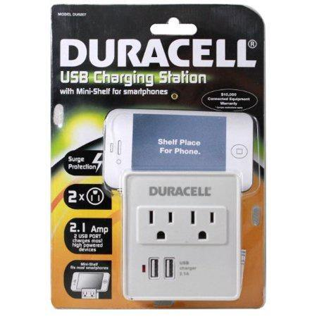 DURACELL USB Charging Station with Shelf - Darn Cheap Discounts