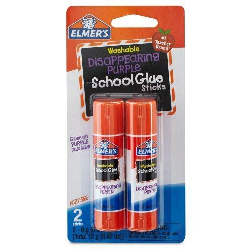 Elmer's Washable Glue Sticks - 2 ct - Darn Cheap Discounts