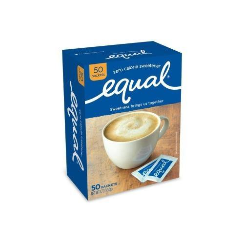 Equal Original Zero Calorie Sweetener - 50 pk - 1.7 oz - Darn Cheap Discounts