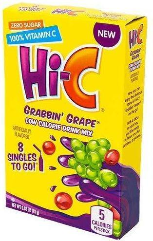 Hi-C Drink Mix Singles - 0.63 oz - Darn Cheap Discounts