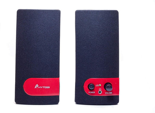 HYTOBI S11 USB Powered Speakers MES11-RED (Black/Red) - Darn Cheap Discounts