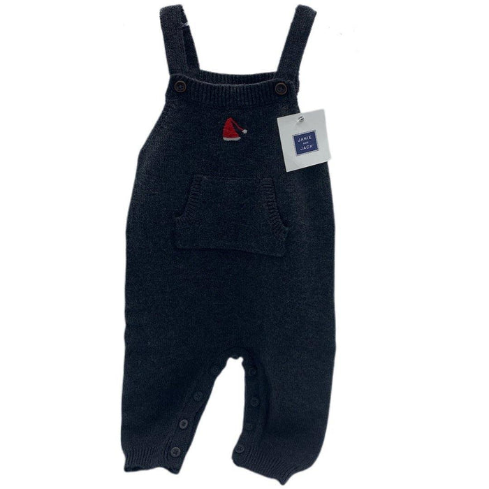 Janie and Jack Santa Hat Overalls - Darn Cheap Discounts
