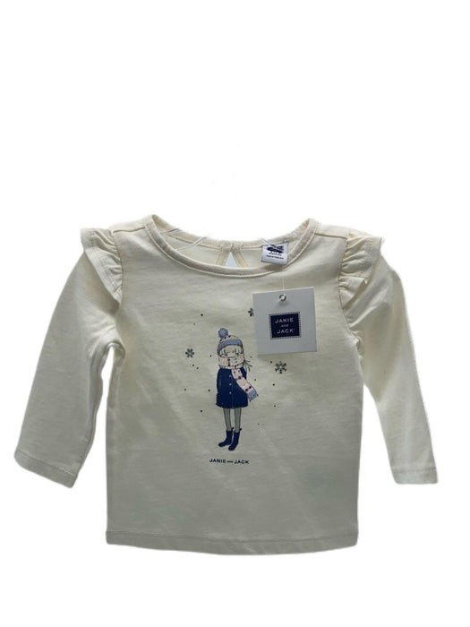 Janie and Jack Snow Girl Long Sleeve - Darn Cheap Discounts