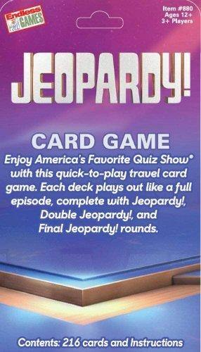 Jeopardy Card Game - Darn Cheap Discounts