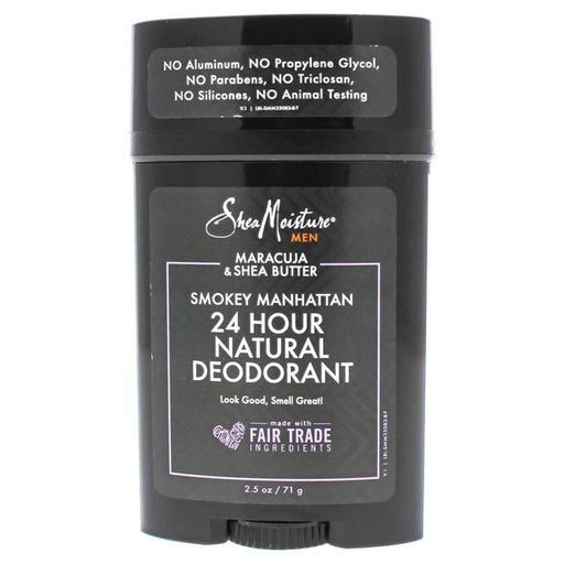 Maracuja Shea Butter Smokey Manhattan 24H Natural Deodorant by Shea Moisture for Men - 2.5 oz - Darn Cheap Discounts