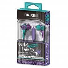 Maxell Wild Things Untamed Earbuds with Mic - Darn Cheap Discounts