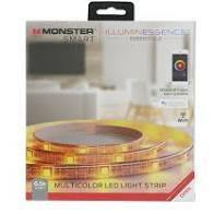 Monster Smart Google Assistant Multicolor LED Light Strip – 6.5 ft - Darn Cheap Discounts