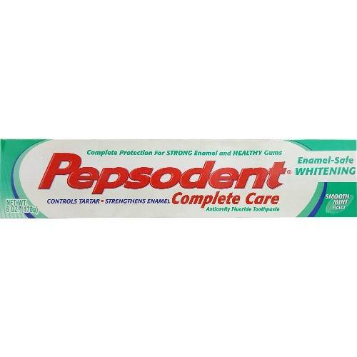 PEPSODENT Complete Care Toothpaste - 5.5oz - Darn Cheap Discounts