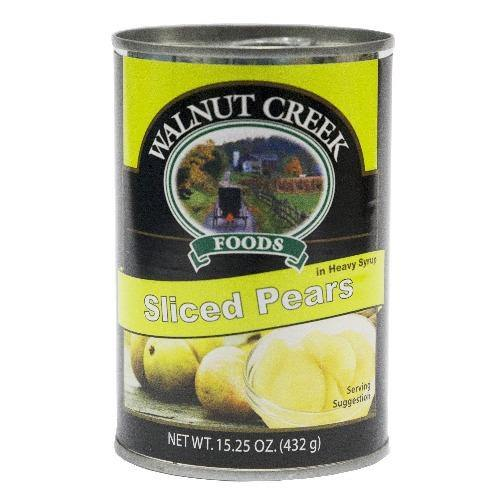 Walnut Creek Sliced Pears 15.25oz - Darn Cheap Discounts
