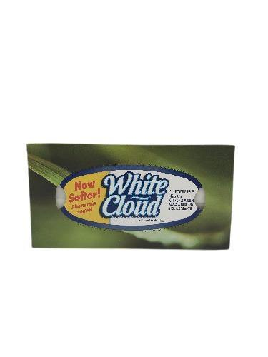 White Cloud 2-ply White Facial Tissues - 90 ct - Darn Cheap Discounts