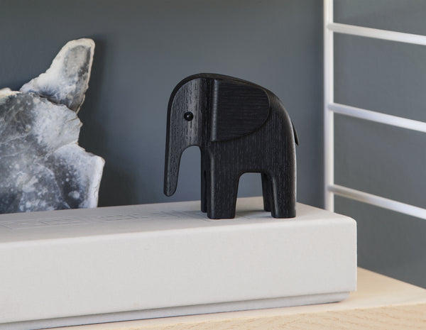BABY ELEPHANT black stained ash