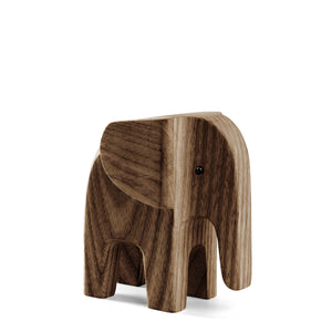 BABY ELEPHANT smoke stained ash