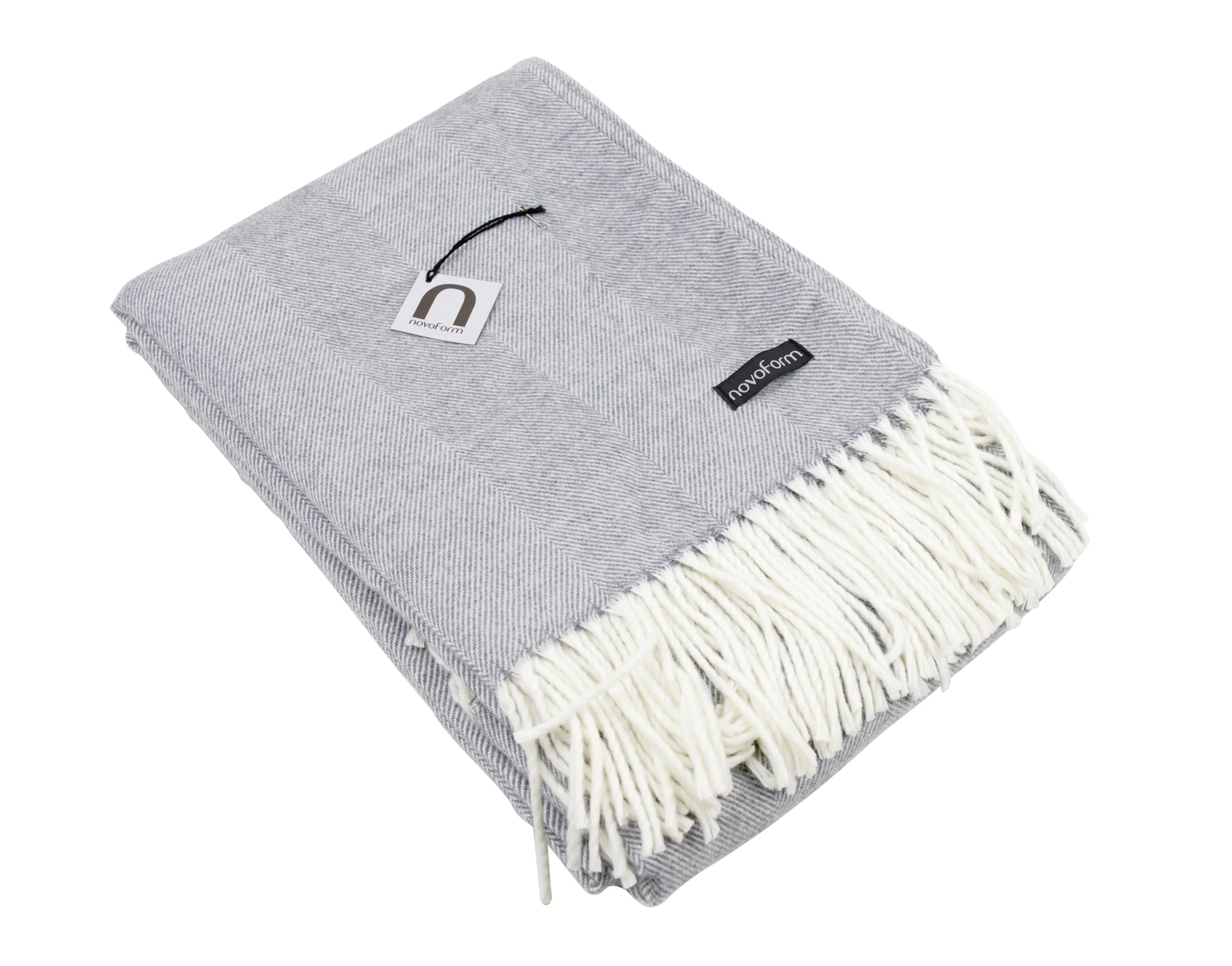SKAGEN throw - light grey