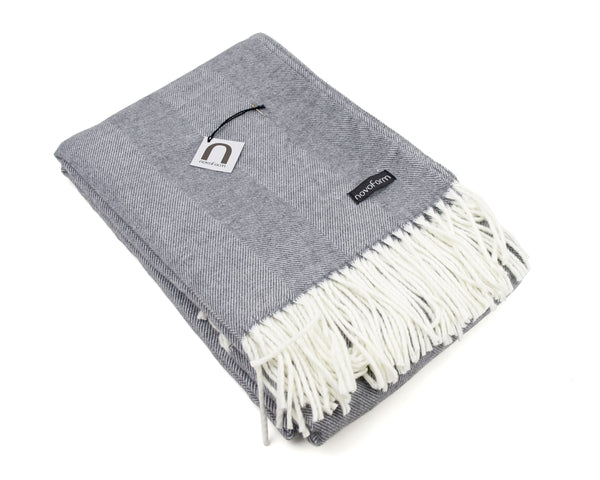 SKAGEN throw - dark grey