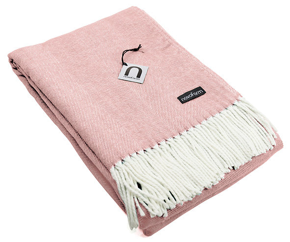 SKAGEN throw - blush