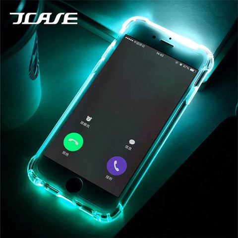 LED Flash TPU Case For iPhone - WildTekPlus