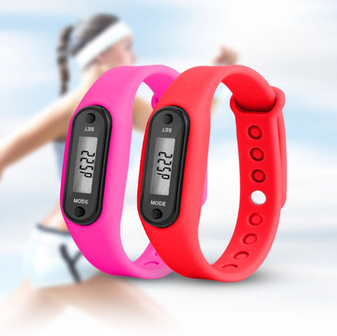 Digital LCD Sports Fitness Watch - WildTekPlus