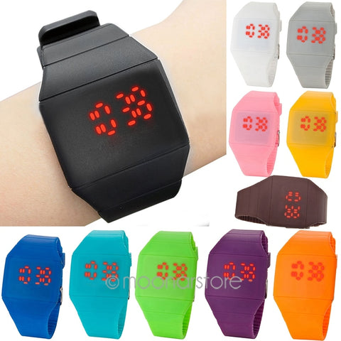 Casual LED Screen Watches - WildTekPlus