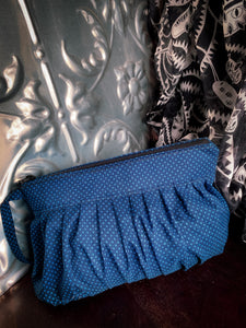 Summer Wrap& Pouch combo - Banksia Blue