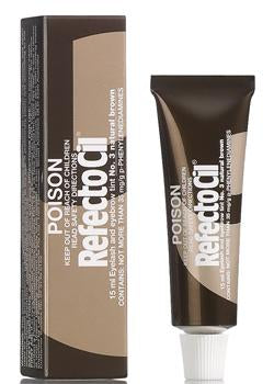 RefectoCil Lash and Brow Tint - R3 Natural Brown (BULK 12)