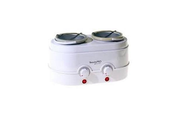 Beauty Pro Twin Wax Pot - 1Kg