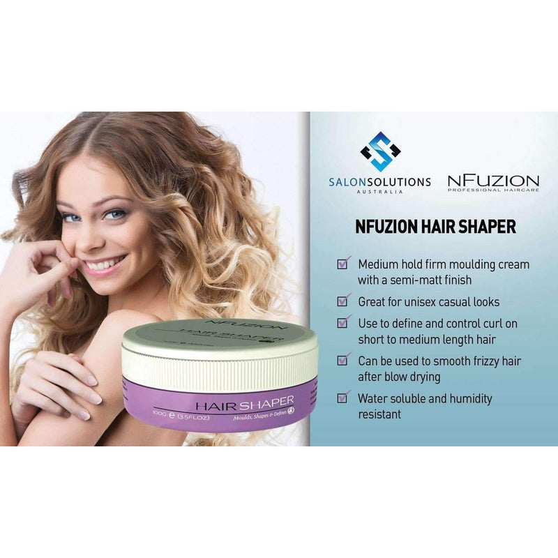 NFuzion Professional Hair Shaper 100gm,Salon Supplies To Your Door