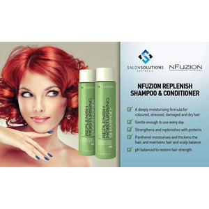 NFuzion Professional Replenish Moisturising Shampoo 375ml,Salon Supplies To Your Door