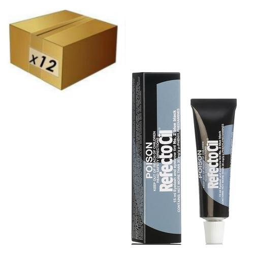 RefectoCil Lash and Brow Tint - R2 Blue Black (BULK 12)