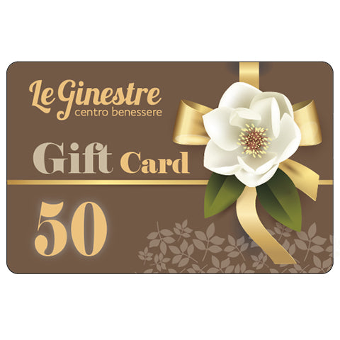 Le Ginestre Gift Card 50 Euro