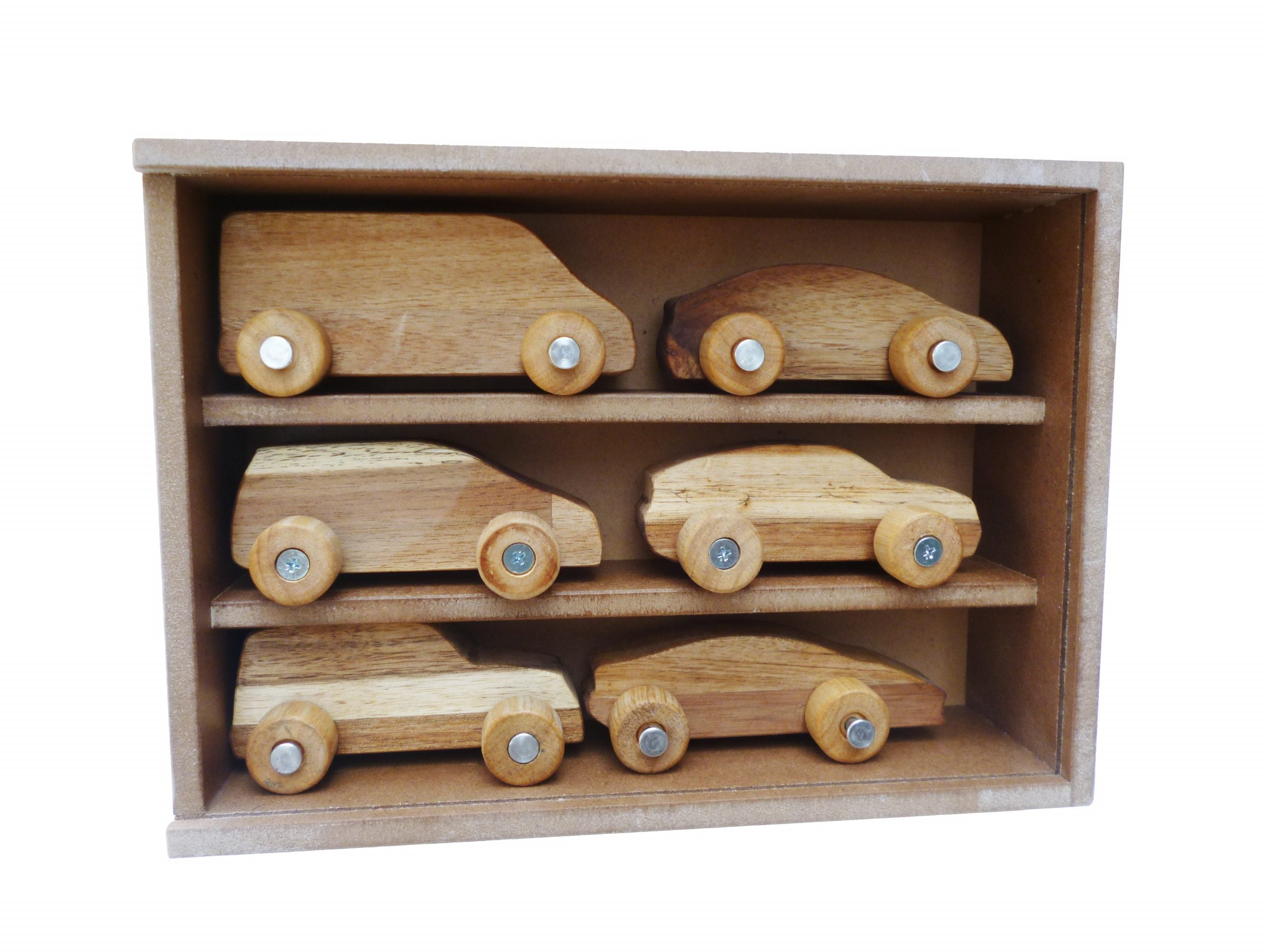 Wooden Car Play Set