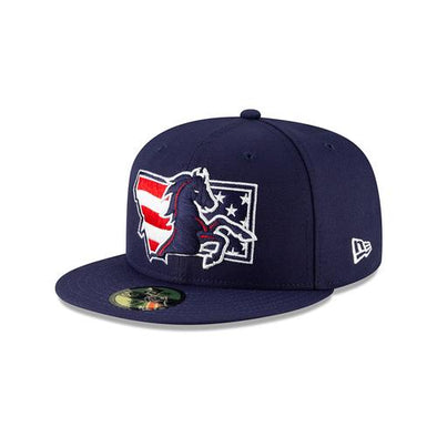 Billings Mustangs New Era 5950 Patriotic Fitted Cap