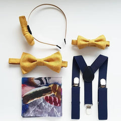 Bespoke Daddy and Me Set - Father, Son and Daughter