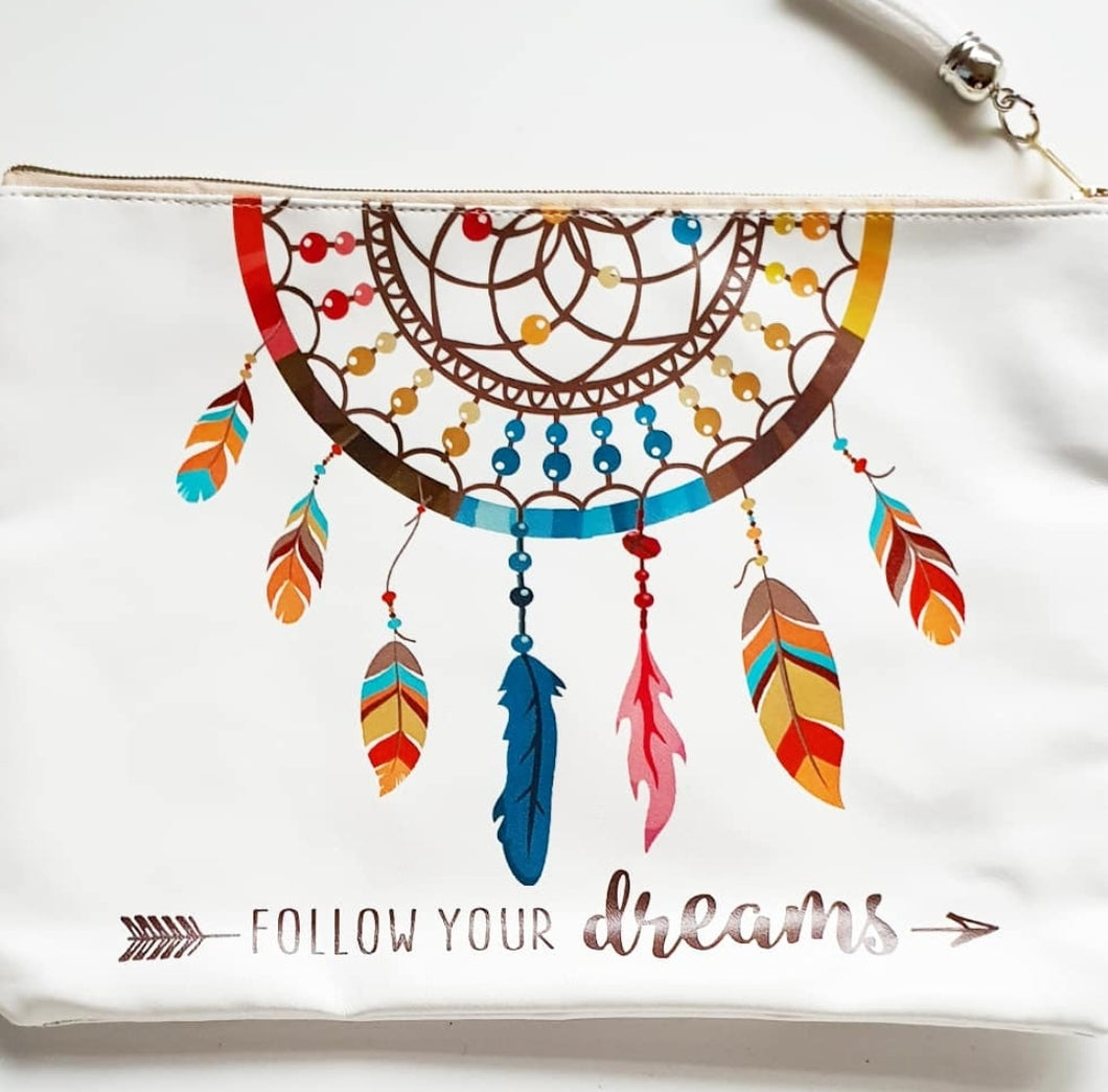 Kids Follow Your Dreams Large Pouch Bag
