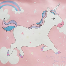 Load image into Gallery viewer, Kids Be Yourself or A Unicorn Large Pouch Bag