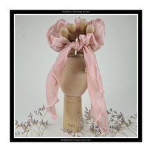 Load image into Gallery viewer, Mink Multiway Sheer Organza Scarf Bow Scrunchie