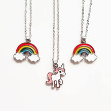 Load image into Gallery viewer, Kids Unicorn Pendant Necklace
