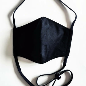 Face Mask with strap for Headwear - AS SEEN ON TV