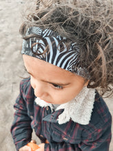 Load image into Gallery viewer, Set of 4 Boys in the Wood Headbands - Zebra Mix