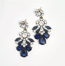 Load image into Gallery viewer, Freya Mixed Rhinestone Earrings