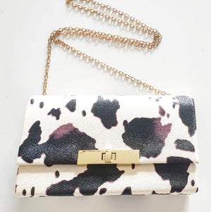 Pony Twist Clasp Bag